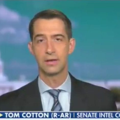 EXPOSED: Sen. Cotton Calls NY Times' Newsroom An Angry 'Mob of Woke Children' Living in 'Mao's China'