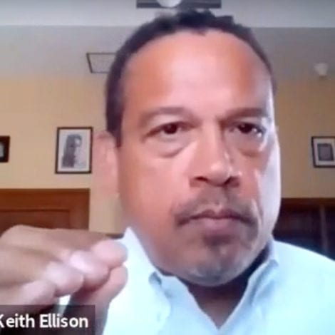 SHOCKING VIDEO: Keith Ellison Says Police Shouldn't Respond to 'Sexual Assault' Calls if Suspect 'Ran Away'