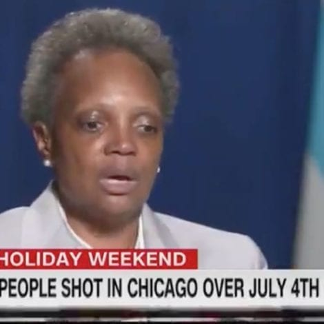 CHICAGO SPIRALS: Mayor Blames Historic Spike in Murders, Shootings on 'Coronavirus'