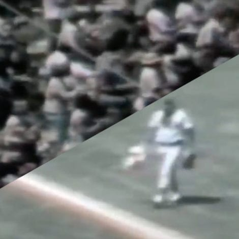 FLASHBACK 1976: MLB Star Stops Protesters from Burning US Flag During Game, Gets Standing Ovation