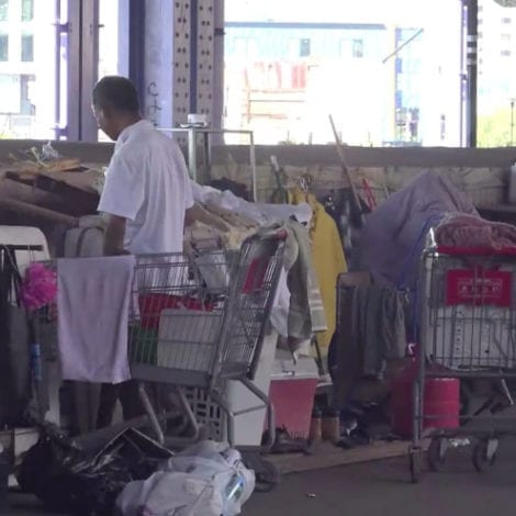 THE NEXT LA? Massive Homeless Camp Appears in Manhattan, Residents Say 'Like a Zombie Movie'