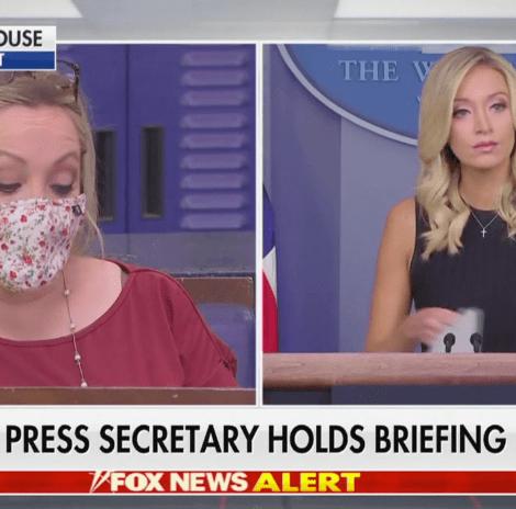 YOU DECIDE: Did WH Reporter Make a Crude Remark to Press Secretary McEnany?