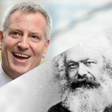COMRADE-MAYOR: Bill de Blasio Directly Quotes KARL MARX, Communist Manifesto During Interview