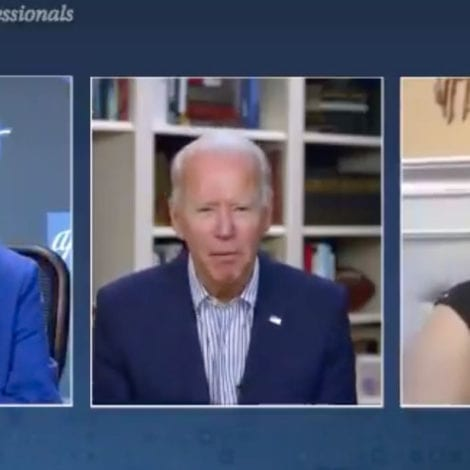 EPIC FAIL: Joe Biden Attempts Disastrous 'Zoom' Call, 'Where Are You? Where's Home? I'll be Quiet'