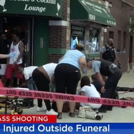 CHICAGO MAYHEM: 15 People Shot Outside Chicago Funeral Home, Victims Between Ages of 21 and 65