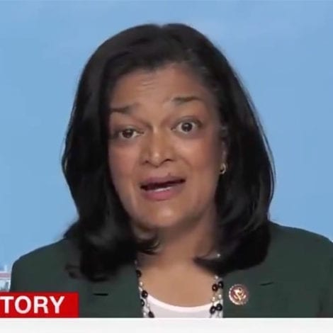 JAYAPAL GOES FULL OMAR: Rioters Just 'Some Protesters at Some Building in Portland'