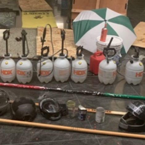 DEADLY WEAPONS: DOJ Releases Pics of Weapons Seized from Portland Riots; Includes Molotov Cocktails