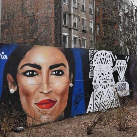CAN'T MAKE THIS UP: AOC Nominated for an EMMY for 7-Minute Art Project About 'Green New Deal'