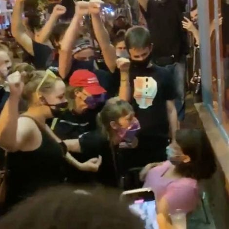 CAPITAL CHAOS: BLM Protesters Target 'Diners' in DC, Demand Restaurant Patrons 'Raise Their Fists'