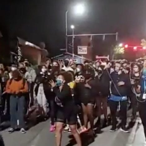 SEATTLE SPIRALS: BLM Protesters March in Residential Neighborhood, Demand People 'Give Up Their Homes'