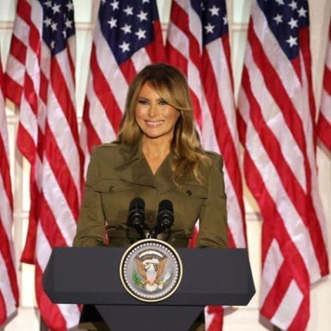 MSNBC MELTDOWN: Melania Trump Address to RNC was a 'CoVID Spreader Event' Because People Cheered