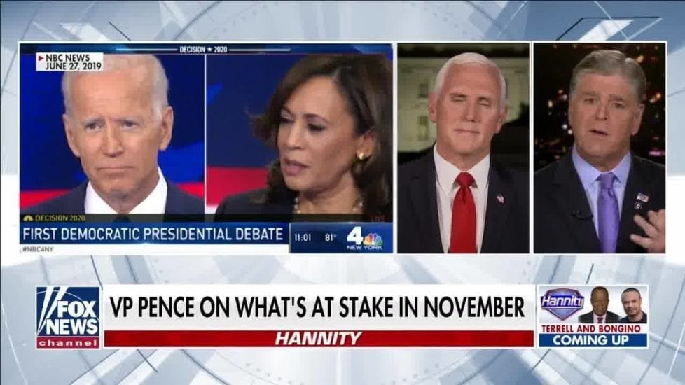 """PENCE ON OFFENSE: """"More jobs under Trump-Pence since May than all of Obama-Biden"""""""