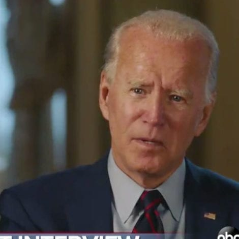 BIDEN on ECONOMY: 'I Would Shut it Down' If Recommended by Doctors to Slow the Spread of CoVID-19