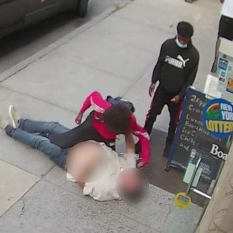 NYC SPIRALS: Retired NYPD Sergeant Attacked on Camera, City Charges Suspect with 'Aggressive Panhandling'