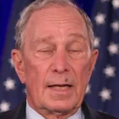 BUGGING BLOOMBERG! Persistent Fly Annoys Mayor Mike Throughout his Entire DNC Speech
