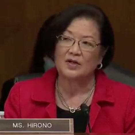 SEN HIRONO: 'Factual Evidence' from Minneapolis Shows 'White Supremacists' Have 'Hijacked Peaceful Protests'