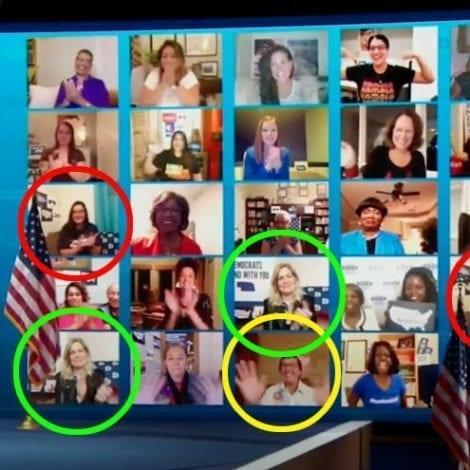 FAKE VIEWS? DNC Caught Duplicating 'Supporters' Live Streams During Kamala Harris Nomination