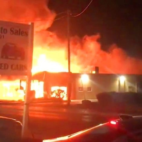 KENOSHA BURNS: Wisconsin Riots Enter 2nd Night, 'Massive Fires' Reported Throughout City