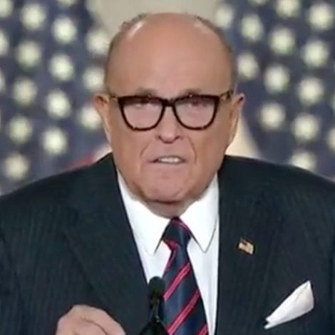 RUDY to VOTERS: 'If Biden is Elected the Crime Wave Will Intensify and Spread from Cities to Suburbs'