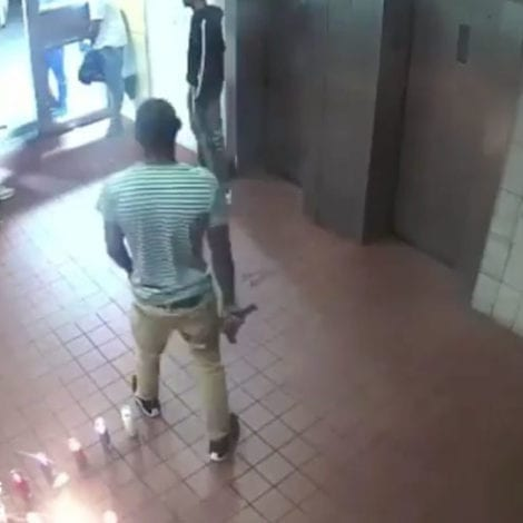 BROOKLYN MAYHEM: Lobby Footage Shows 'Wild West' Shootout in NYC Apartment Complex