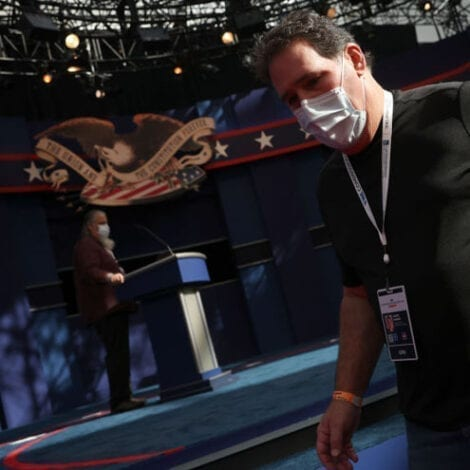 HANDS OFF! Handshake Between Trump, Biden Cancelled by Commission Over Virus Fears