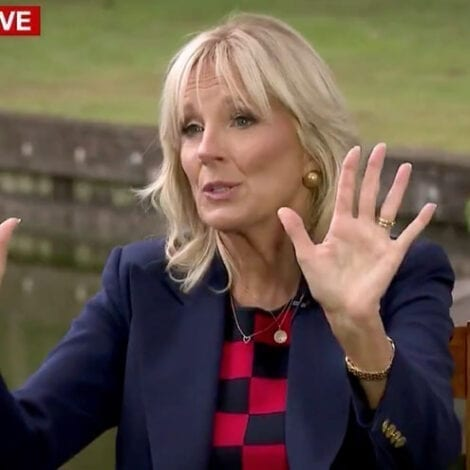 THE ISSUE 'IS OVER': Jill Biden Shuts Down CNN's Tapper When Asked About Husband's 'Gaffe' Problem