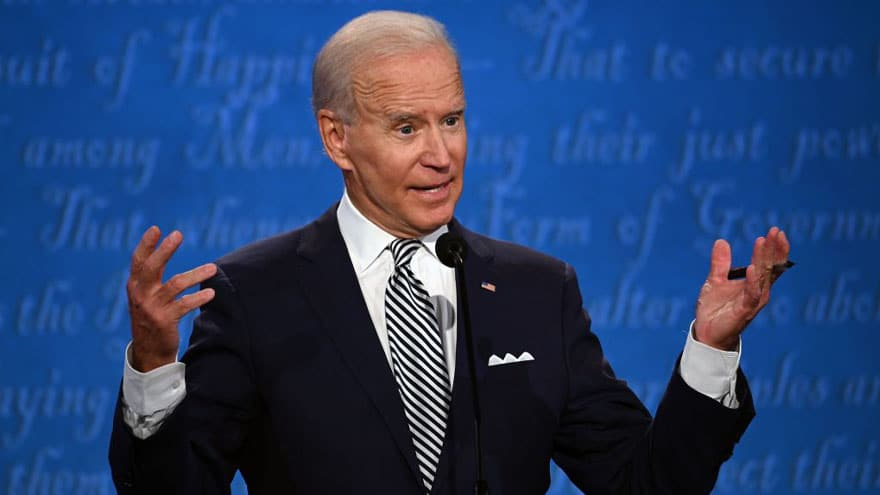 JOE CLAMS UP: Biden Claims Russian Payment to His Son Hunter 'Has Been Discredited'