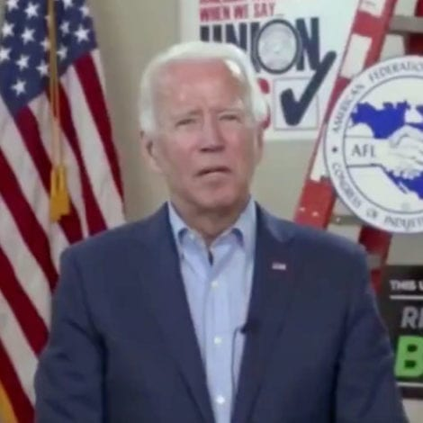 CHEAT SHEET? Biden Seemingly Responds to Video Question with Teleprompter, Tells Staff 'Move It Up'