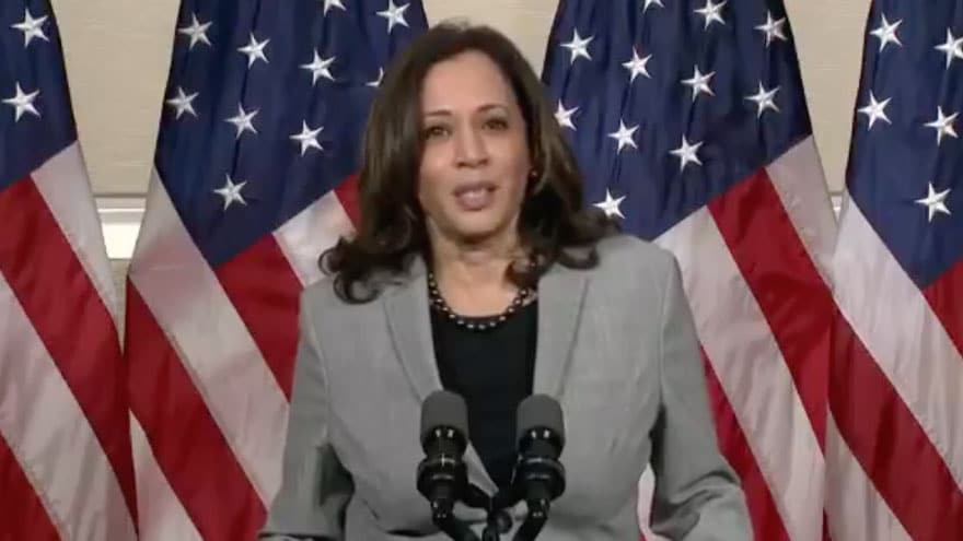 BREAKING: Harris Says Confirming Judge Barrett Could Violate 'Due Proces...