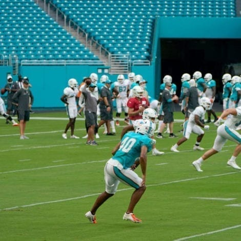 FOOTBALL FALLOUT: NFL Ratings Plunge, Miami Dolphins Will 'Stay Inside' Locker Room for Anthem