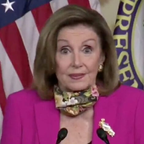 PROFESSOR PELOSI: Nancy Blames Wildfires Started by Arsonists, Smoke-Device on 'Climate Crisis'