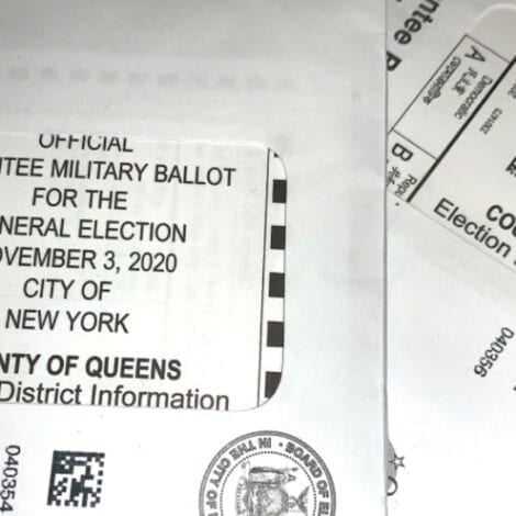 TROUBLE ALREADY? Some Voters in NYC Wrongly Receive 'Military Mail-In Ballots' for 2020 Election
