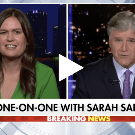 SARAH SMACKDOWN: Sanders Scorches 'The View', Says Hosts 'Hate Trump' More Than They 'Love America'