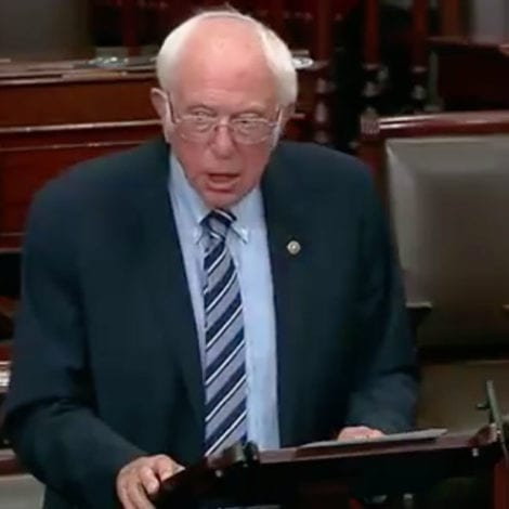 BERNIE BUCKS: Sanders Says 'Every Working Class Person' in US Needs $2K Per Month Until CoVID is Gone