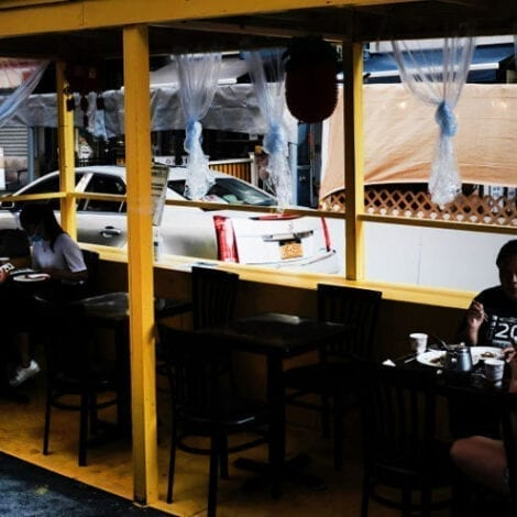 SCIENCE! DC Mayor Gives $4M to Help Bars 'Winterize' Outdoor Dining, w/ Tents, Lights, Furniture