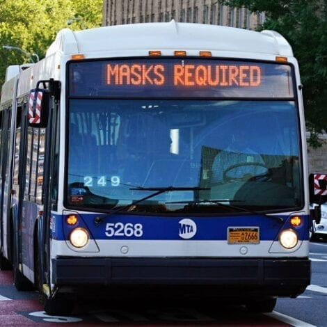 DE BLASIO'S NYC: 62-Year-Old Bus Driver 'Knocked Out' After Asking Rider to Wear a Face Mask