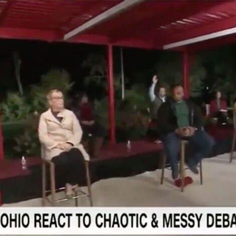 CRICKETS: Just 1 PERSON on Entire CNN Panel of Voters Thinks 'Joe Biden Won the Debate'