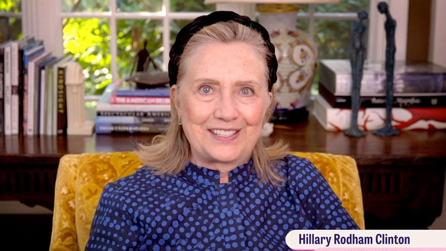 old clinton she gave monic when blowjob was How