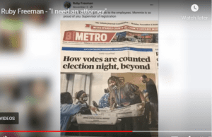 OP-ED: In Georgia, Unsigned Absentee Ballots, Shown on Video adds to the Stench of Election Corruption