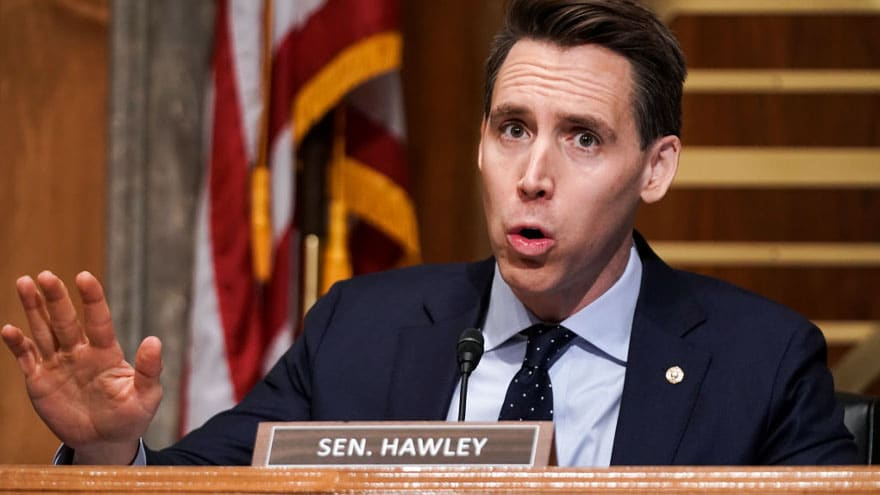 JUST IN: Senator Hawley Calls for Ethics Probe into Democrats Who Filed Complaint Against Him