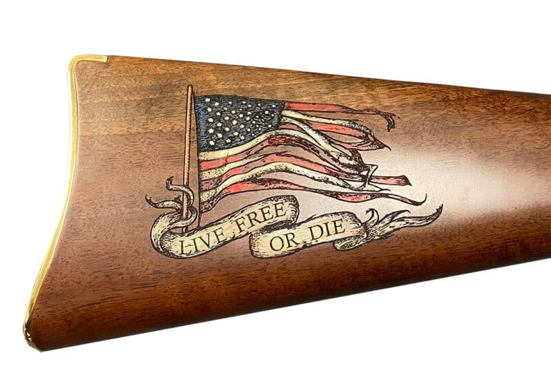 LIVE FREE or DIE: Check Out Hannity's Custom Rifle from Henry USA