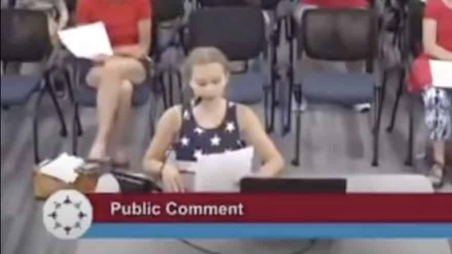 STUDENT SOUNDS OFF: 9-Year-Old Torches School Board Over 'BLM Posters' in the Classroom | Sean Hannity
